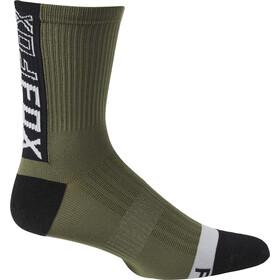 """Fox 6"""" Ranger Socks Men, verde"""